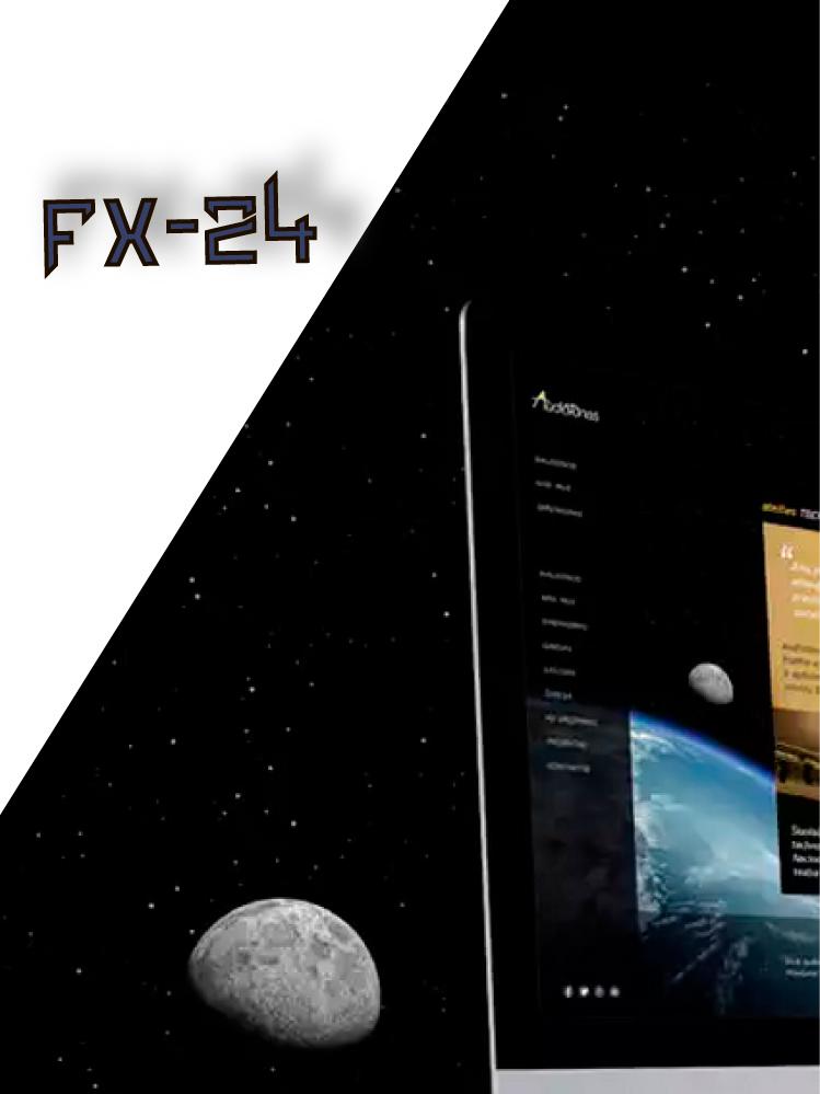 Разработка логотипа компании FX-24 фото f_845545dd782a206c.jpg