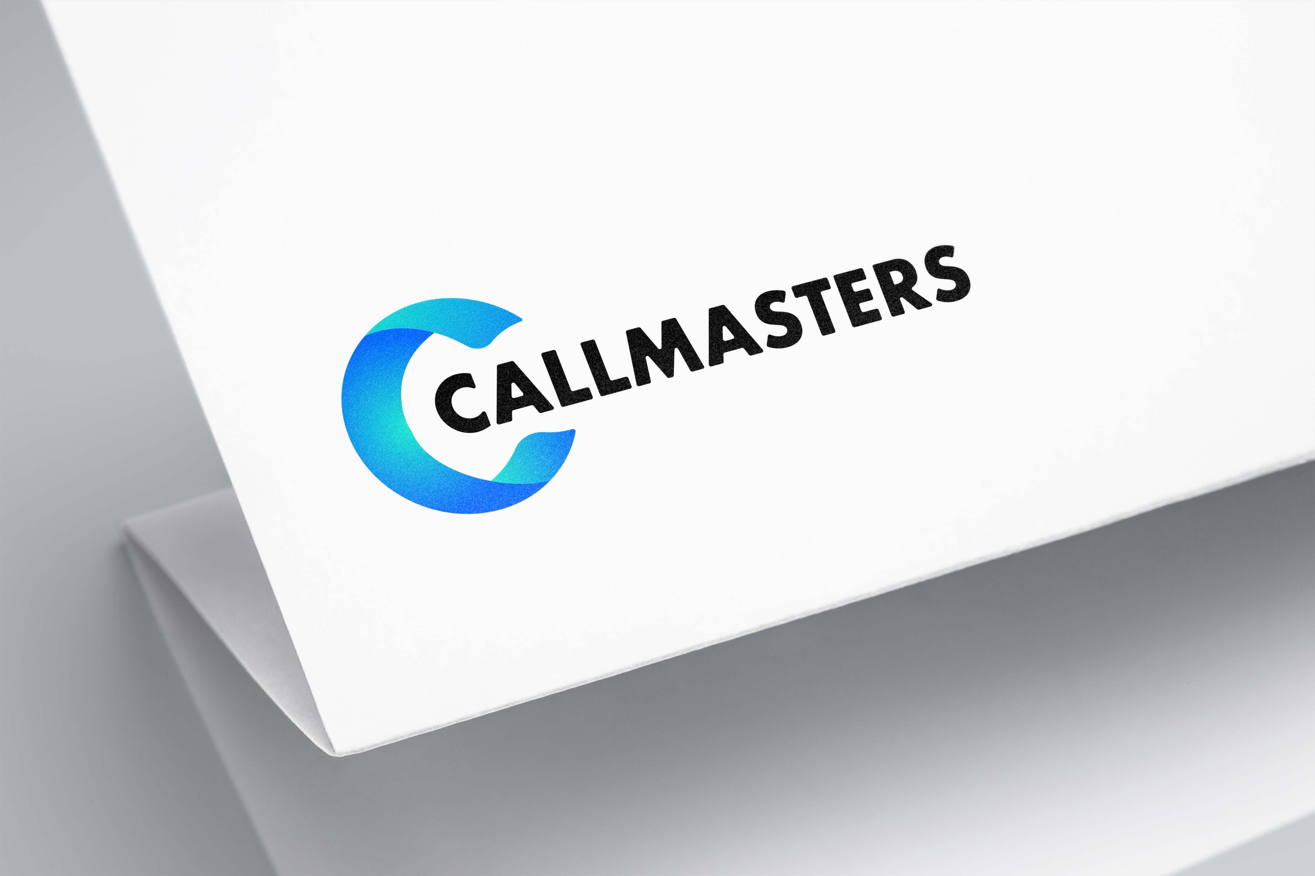 Логотип call-центра Callmasters  фото f_2645b6b7005a0444.jpg