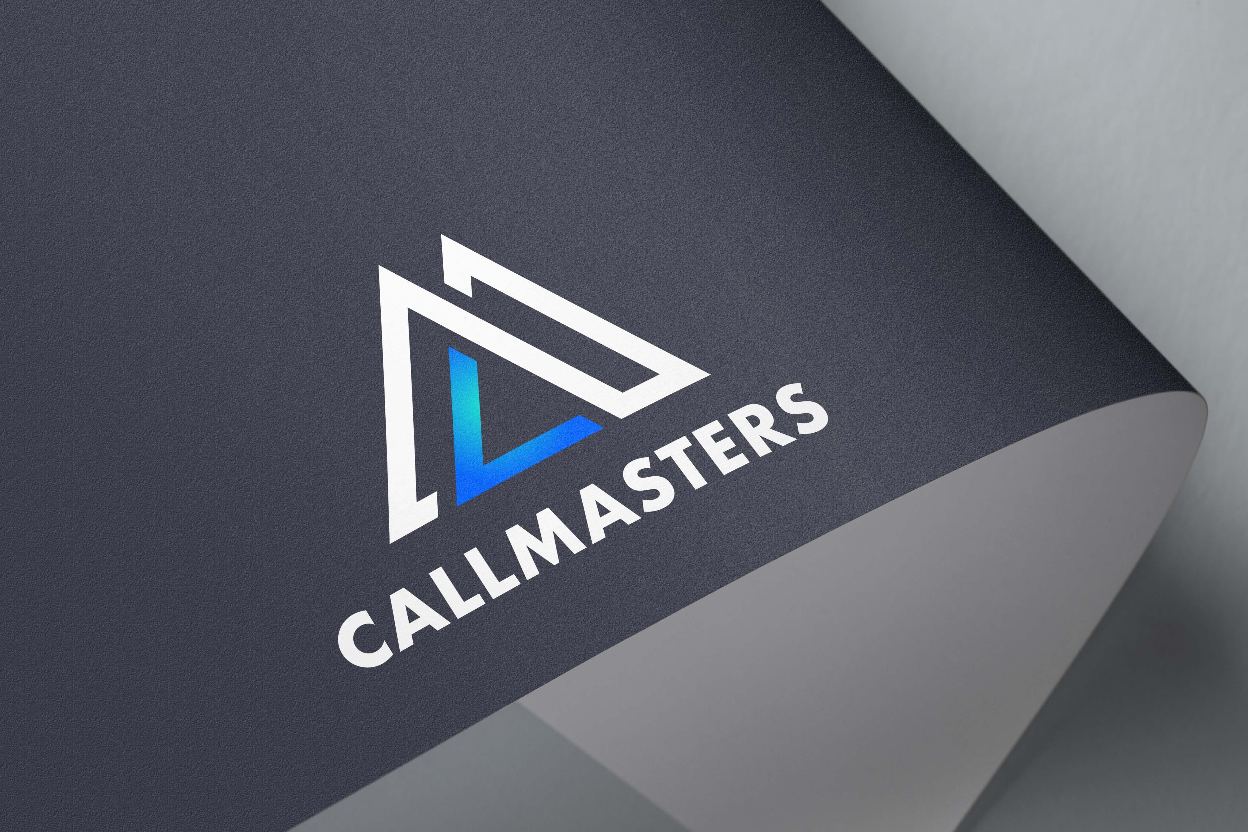 Логотип call-центра Callmasters  фото f_5925b6c9a7fc0bfd.jpg