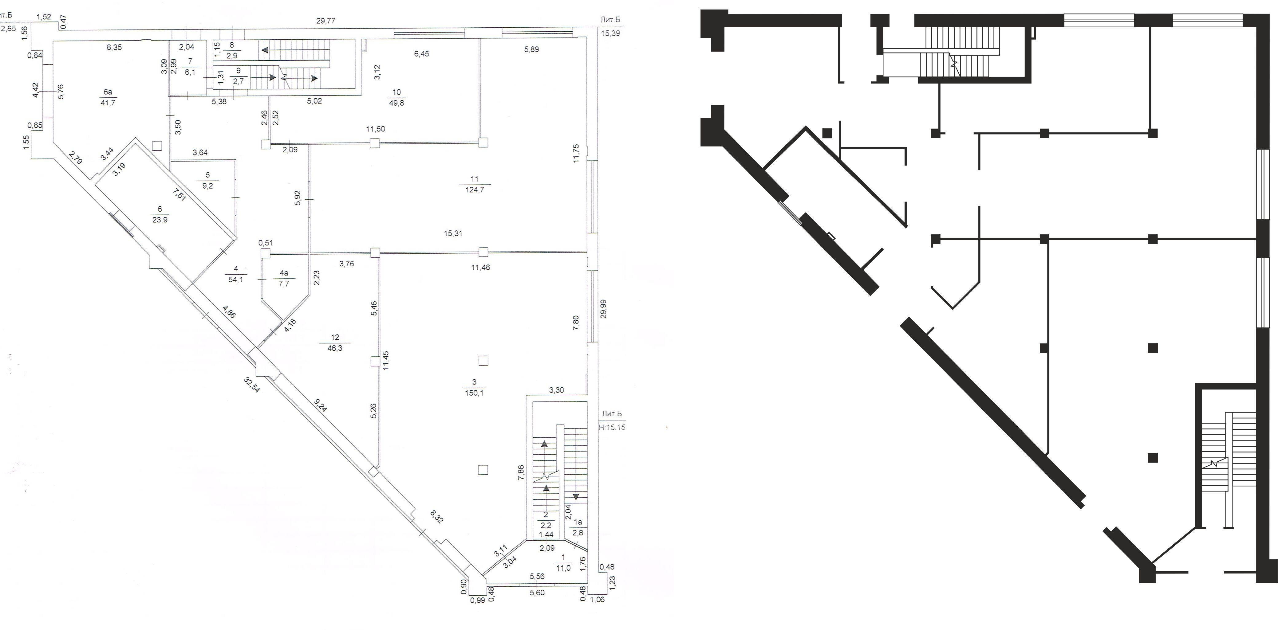 Отрисовка планировки помещения