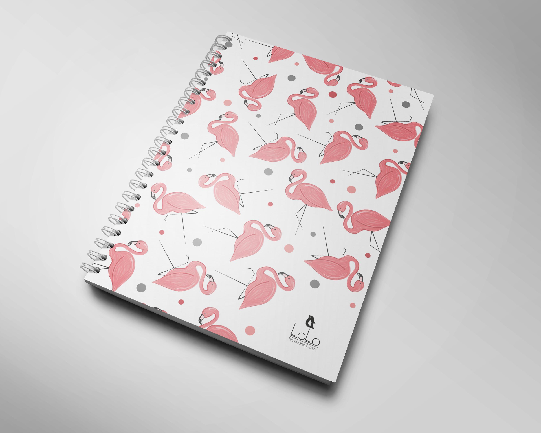 Блокнот Фламинго