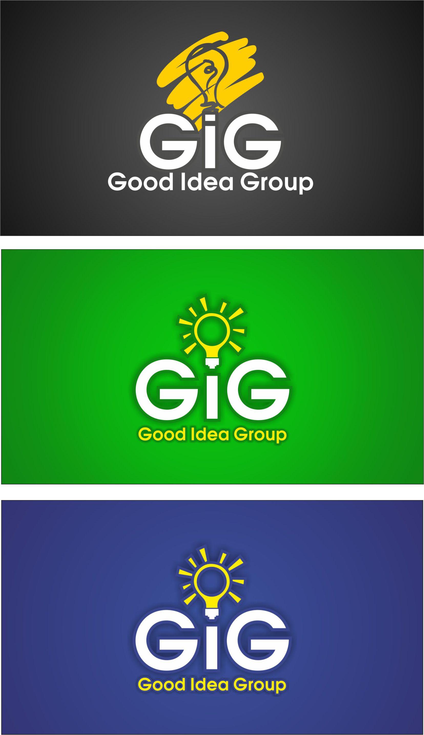 Варианты логотипа для GIG