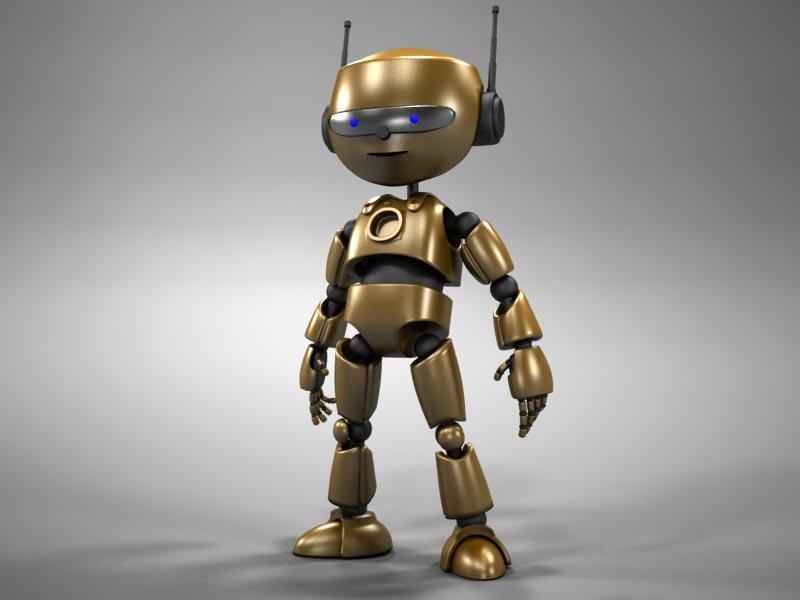 """Модель Робота - Ребёнка """"Роботёнок"""" фото f_4b684e6d356ea.jpg"""