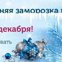 Баннер новогодний для компании Еврочехол