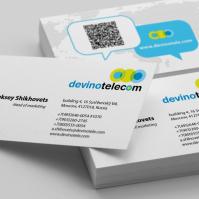 Корпоративная визитка для Devino