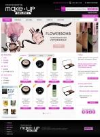 Сайт онлайн магазина косметики Make-up