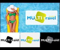 Логотип для туристической компании Multitravel