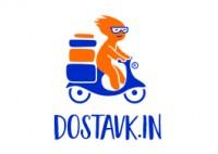 Логотип для интернет магазина с доставкой dostavk.in