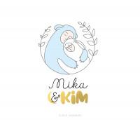 Дизайн логотипа корейской косметики Mika&Kim
