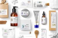 Дизайн упаковки бренда аптечной косметики Gekht Cosmetics