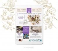 Адаптивный дизайн интернет-магазина текстиля