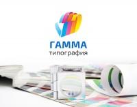 Логотип для типографии Гамма-М
