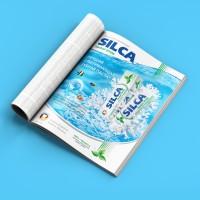 Дизайн рекламного модуля Silca