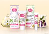 Редизайн торговой марки и дизайн упаковки косметики «Дикая роза»