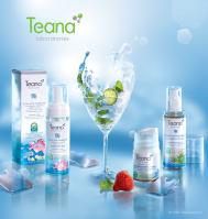 Дизайн упаковки сенсорной органической косметикой «Пятое чувство» бренда «Teana»