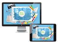 Дизайн Landing Page (Лендинг) для детского сада