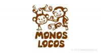 Логотип и фирменный стиль «Monos Locos»