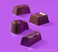 Предметная фотография для упаковки конфет «Ассорти премиум».