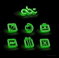Доработка иконок в psd (abc promo)