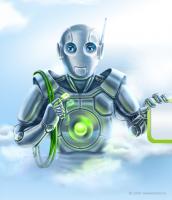 """""""Робот"""" для сайта Парус-теле"""