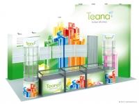 Дизайн выставочного стенда Teana