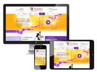 Адаптивный дизайн Landing Page (Лендинг) для школы-студии танцев