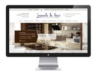 Дизайн сайта мебели с каталогом