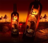 Этикетка  для вина «Медвежъя кровь»