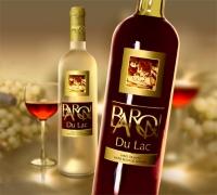 """Этикетка  для вина """"Барон"""""""