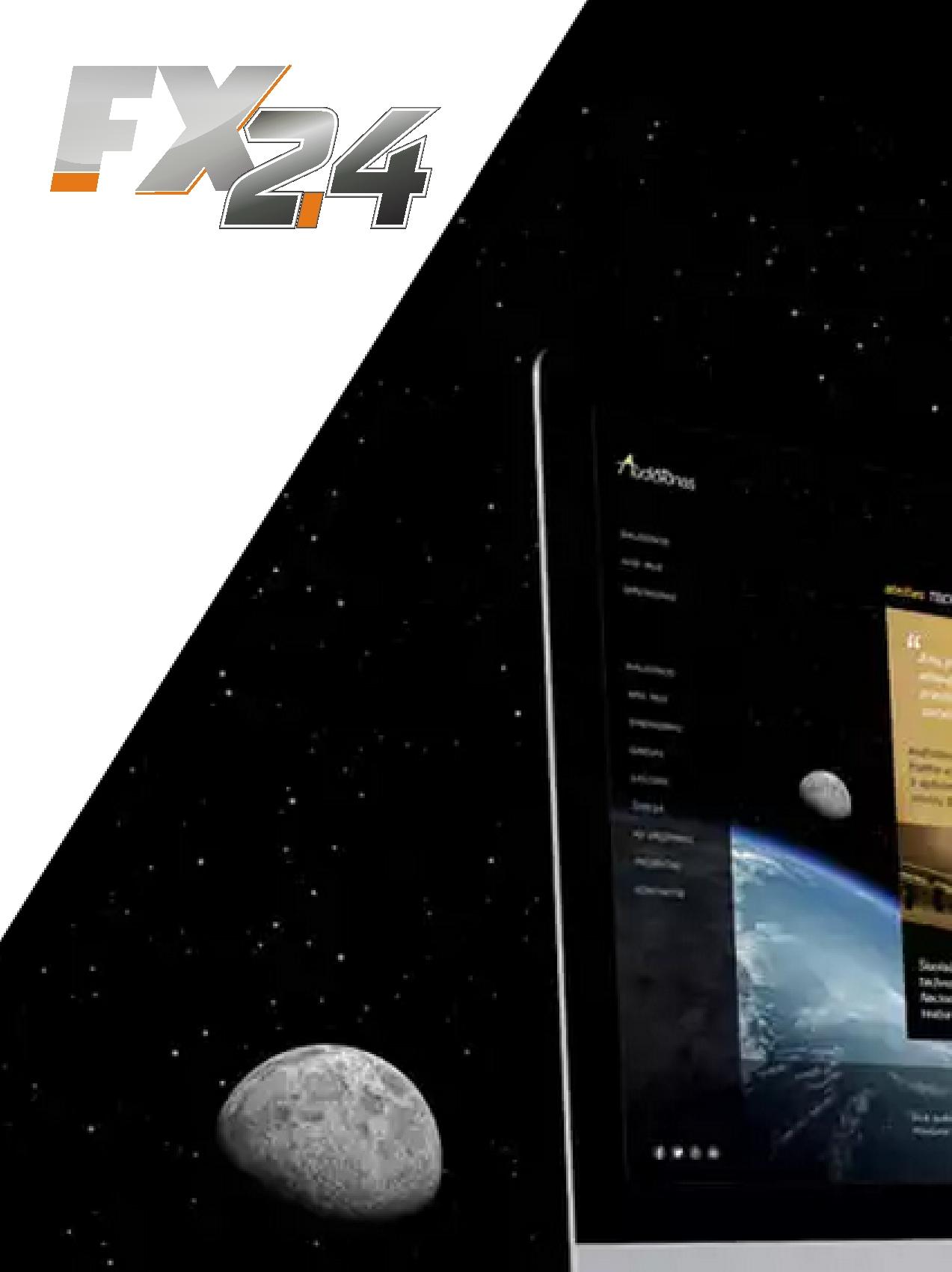 Разработка логотипа компании FX-24 фото f_415545322f569133.jpg