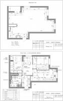 Планировочное решение квартиры со свободной планировкой