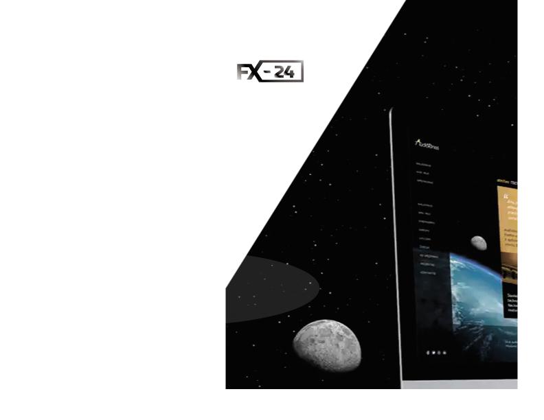 Разработка логотипа компании FX-24 фото f_7635462303550971.jpg