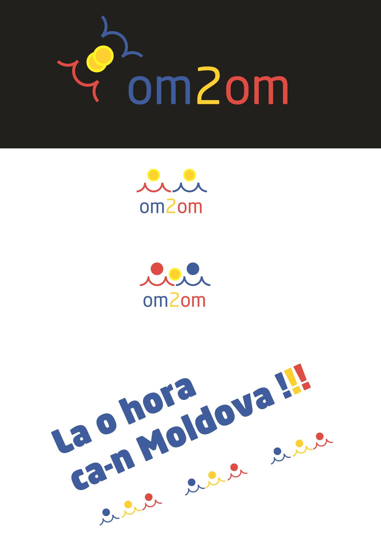 Разработка логотипа для краудфандинговой платформы om2om.md фото f_8525f5de6c2d74d6.jpg