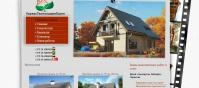 Разработка и продвижение сайта - строительство домов