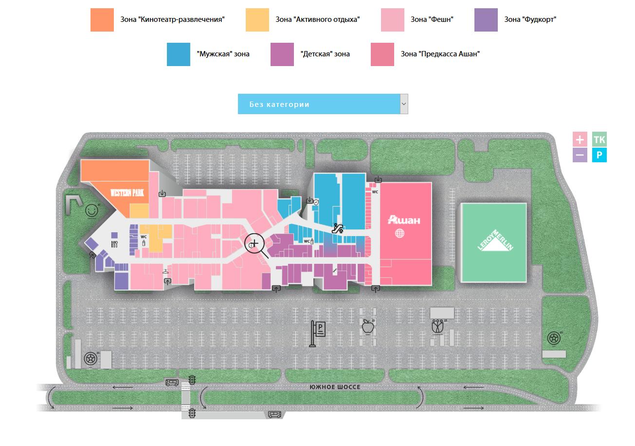 Интерактивная карта ТК Амбар