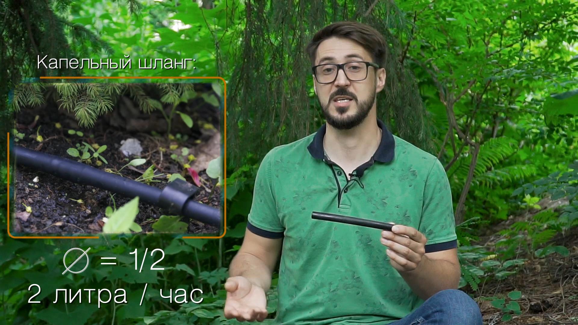 Видео про правильный полив