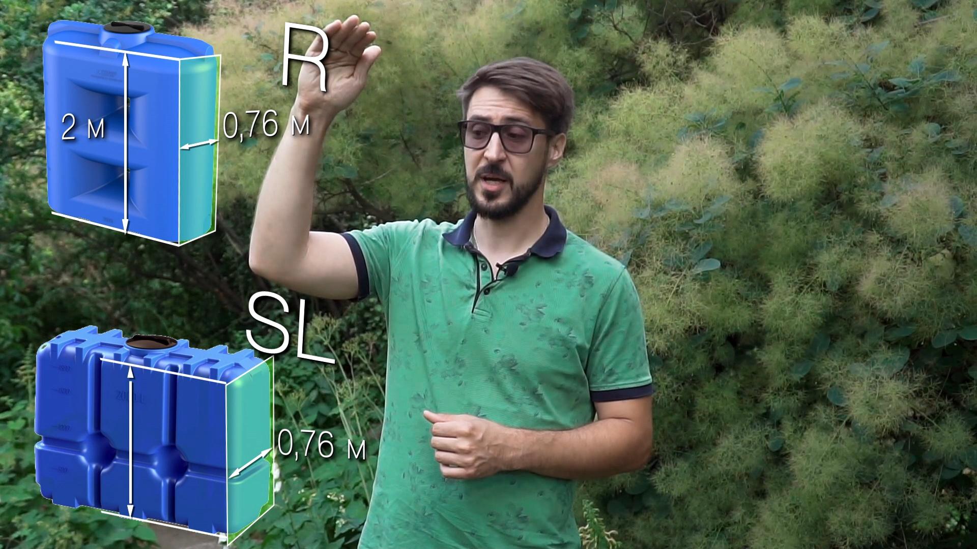 Видео про ёмкости автополива