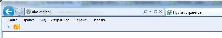 Тулбар-информер для Internet Explorer