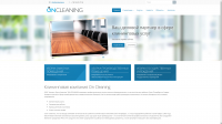 OnCleaning наполнение сайта