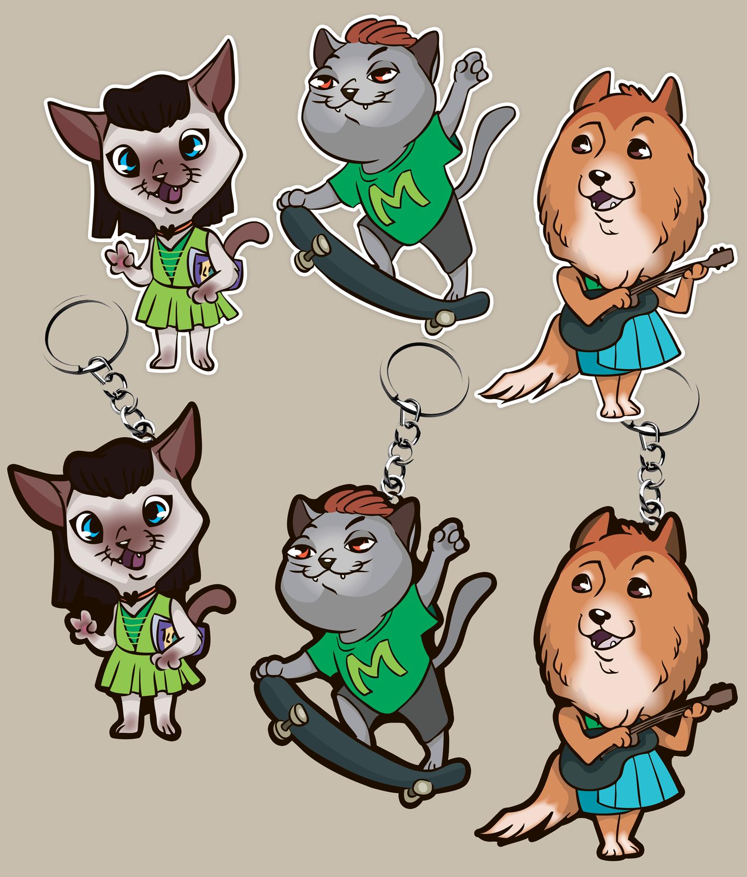 Коллекция 2D персонажей животных. фото f_9965977973558d88.png