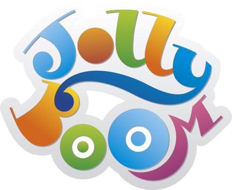 Логотип для магазина сладостей Jolly Boom