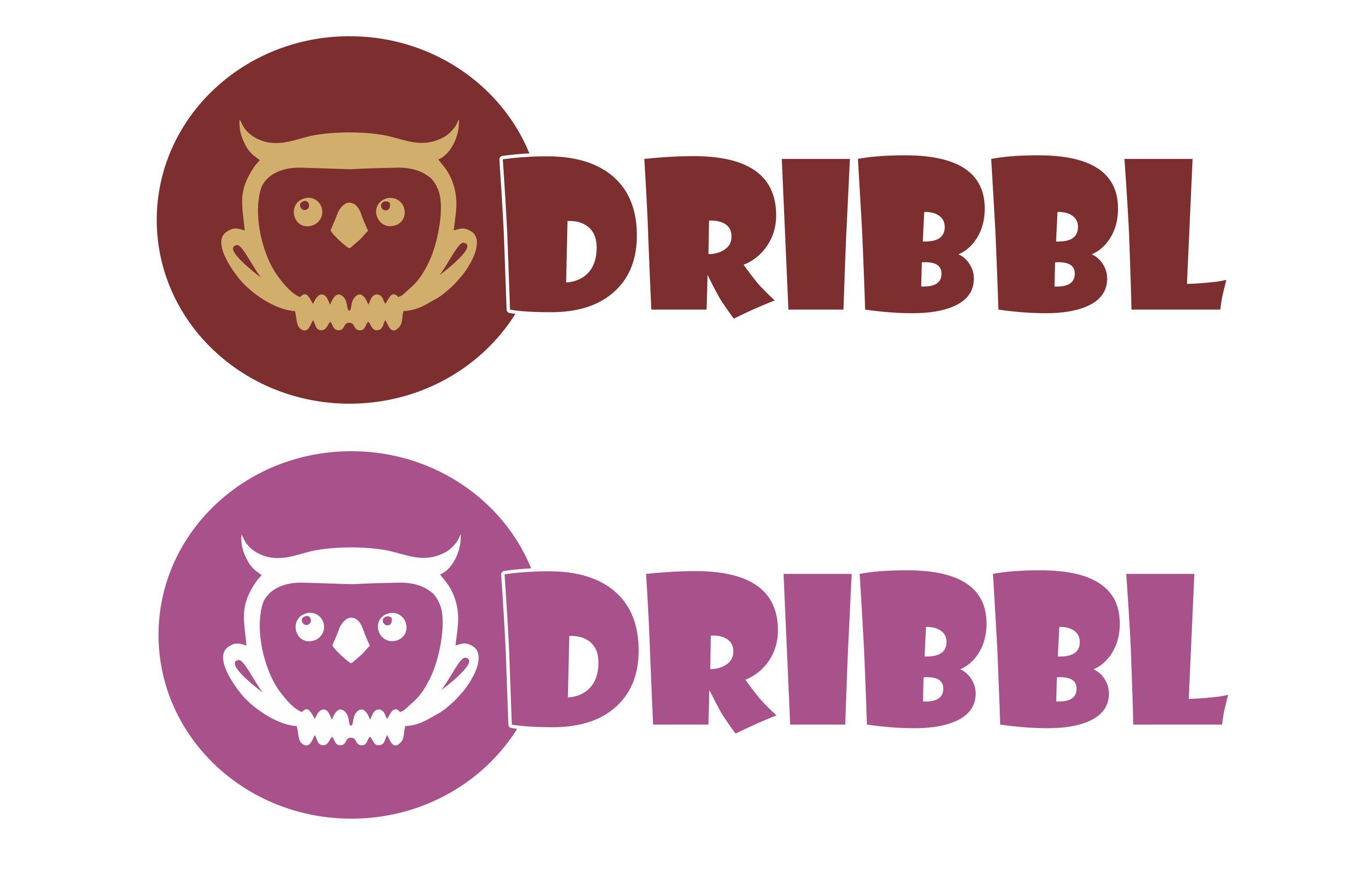 Разработка логотипа для сайта Dribbl.ru фото f_7015a9c34e3d6de4.jpg