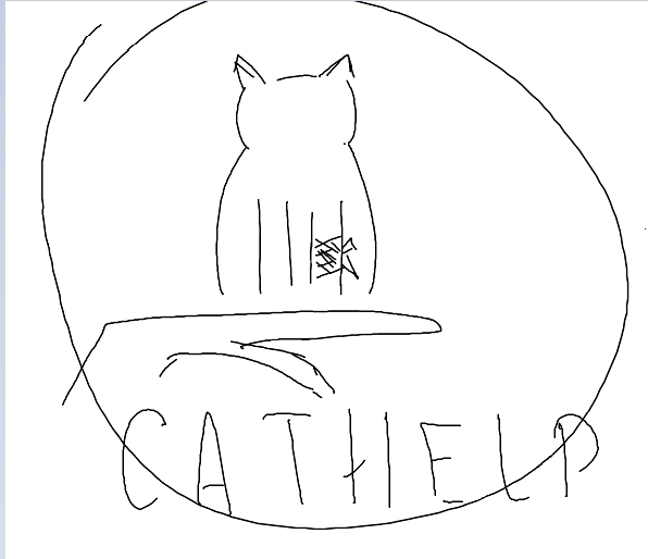 логотип для сайта и группы вк - cat.help фото f_54059d9ceb5d7784.jpg
