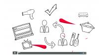 Океан-рекламный ролик для кооператива. Создание анимации.