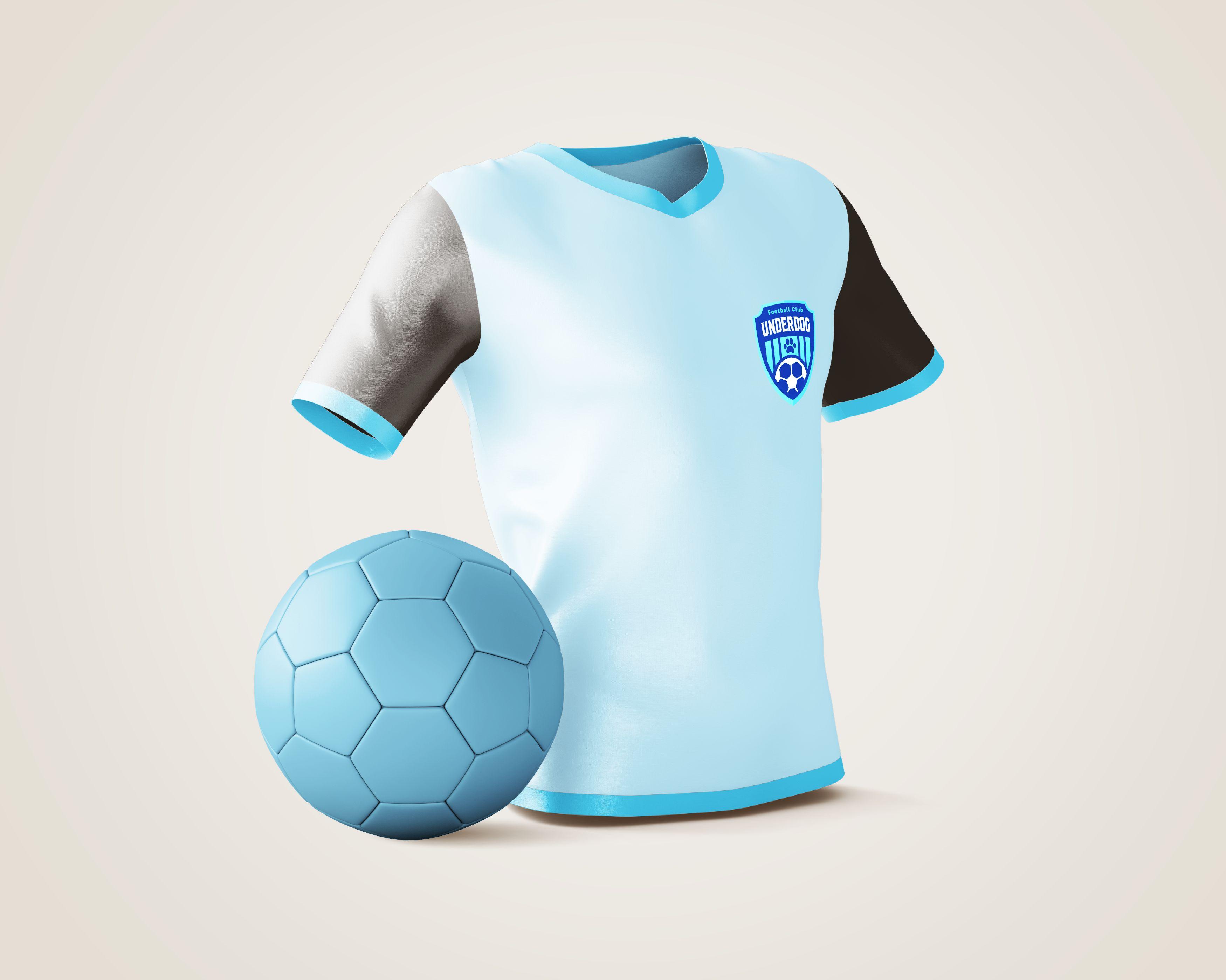 Футбольный клуб UNDERDOG - разработать фирстиль и бренд-бук фото f_1555cb45fc6b701b.jpg