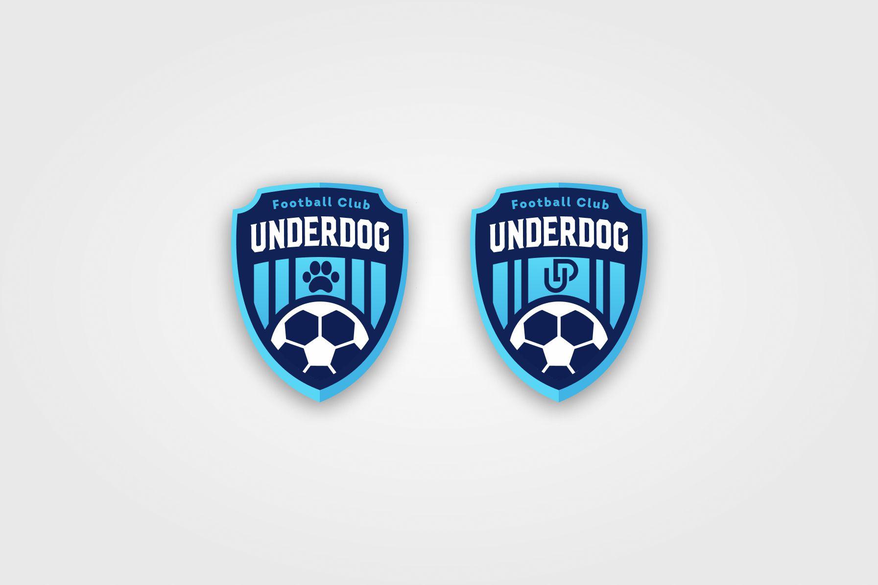 Футбольный клуб UNDERDOG - разработать фирстиль и бренд-бук фото f_3105cb45f7da1e01.jpg