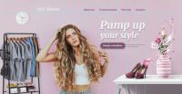 Дизайн сайта для стилиста
