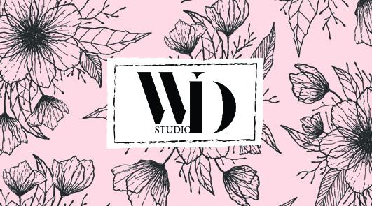 """Визитка для агентства свадебных аксессуаров """"Wedding Studio"""""""