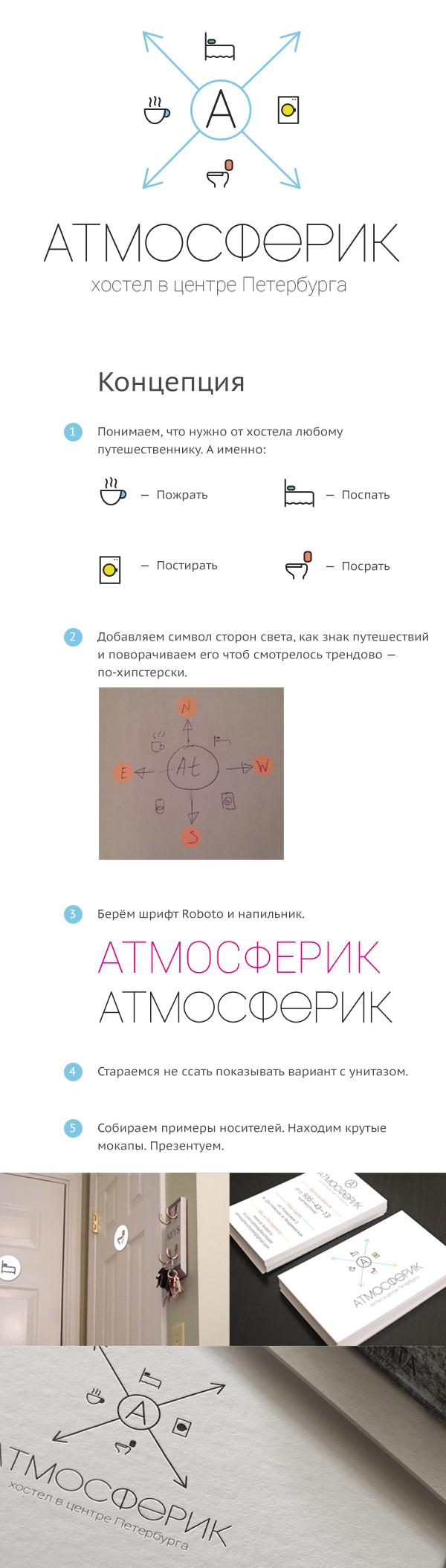 """Хостел """"Атмосферик""""."""