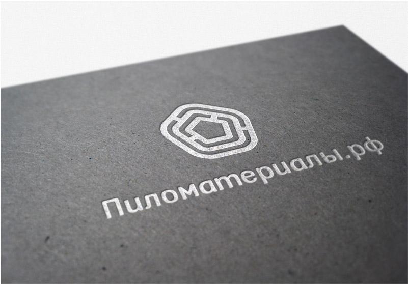 """Создание логотипа и фирменного стиля """"Пиломатериалы.РФ"""" фото f_43552fbea2955baa.jpg"""